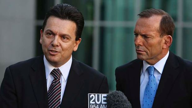 Tony Abbott's government will have to contend with Nick Xenophon and other minor party senators.
