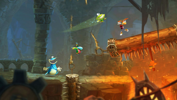 Every imaginative stage in Rayman Legends brings varied challenges and giggles.