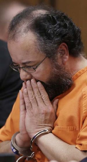 Ariel Castro appears in court in August.