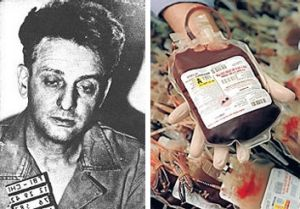 Mobster Roger Touhy linked to blood supply price queries.
