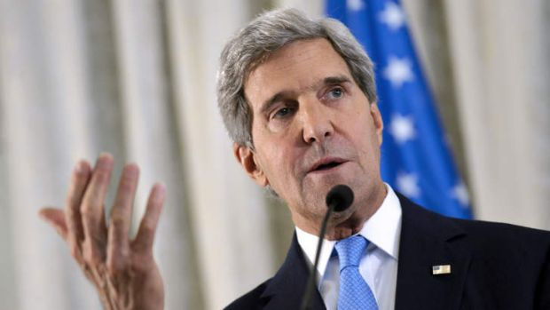 US Secretary of State John Kerry ... ''All of us agree, not one dissenter, that Assad's deplorable use of chemical ...
