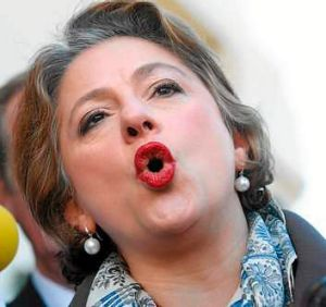 Long wait: Sophie Mirabella, who has fallen behind in Indi, must now rely on a strong postal vote.