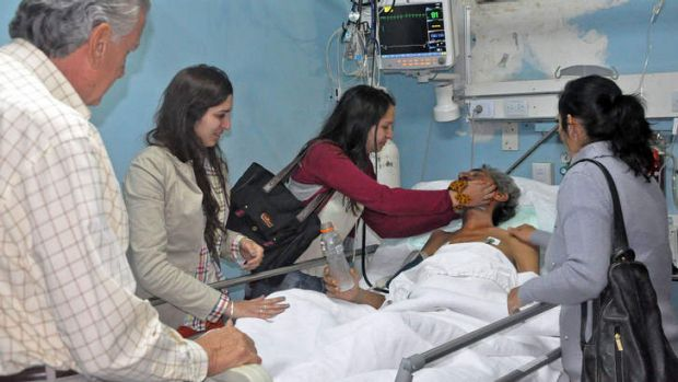 Raul Gomez Cincunegui: survived for four months lost in the Andes.