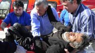Man rescued after four months lost in Andes (Video Thumbnail)