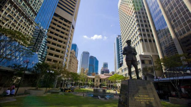 Brisbane's commercial property market might be headed for disaster, BIS Shrapnel has warned.
