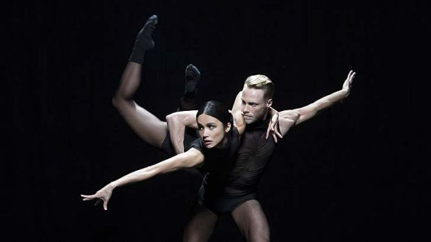 Give it a twirl: Interplay, with dancers Charmene Yap and Andrew Crawford.