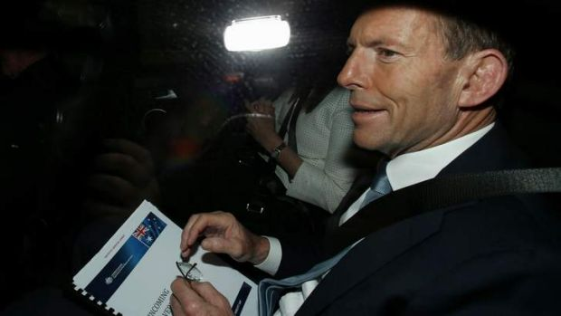 Judgment call: Tony Abbott is choosing his cabinet.
