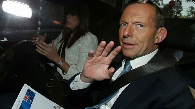 The promise of prosperity: Consumer confidence has risen on the back of the election of Tony Abbott.