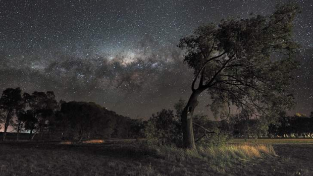 The Milky Way, near-impossible to spot in cities.