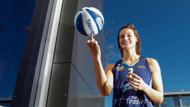 Canberra Capitals Basketball Team announce a new high profile contract, Isabelle Strunc.