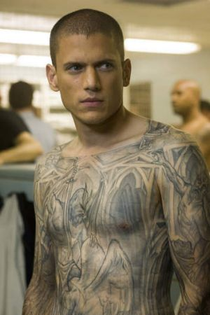 Torn ... Wentworh Miller says he lied about himself while he was starring in <i>Prison Break</i>.
