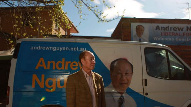 Andrew Nguyen liberal member for the seat of Fowler.