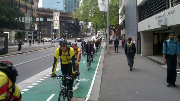 Bicycle, bicycle, Sydney wants to ride its bicycle. Photo: Sydney Cycleways