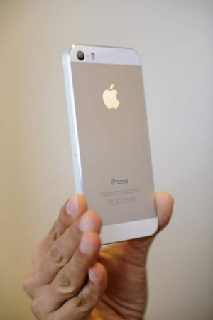 The iPhone 5S.