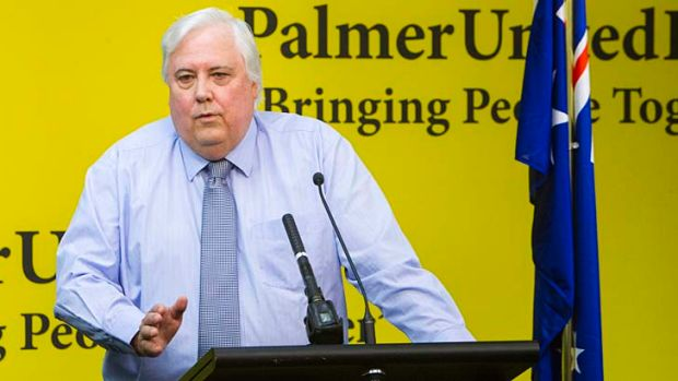 """Clive Palmer says calls to reform the voting system are """"an attack on democracy""""."""