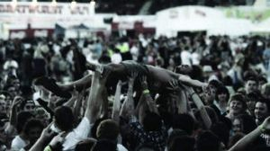 A still from <i>The Crowd</i>.