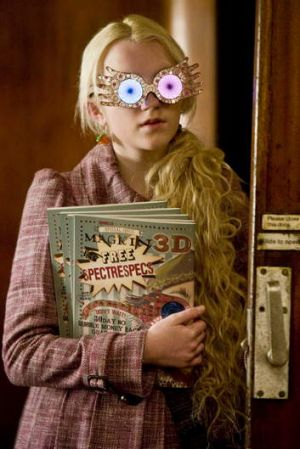 Luna proves Rowling's love for the characters ... Evanna Lynch as Luna Lovegood in Harry Potter and the Half-Blood Prince.