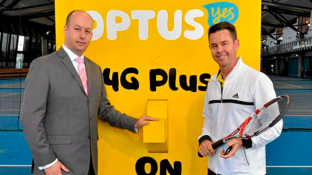Victorian Minister for Technology, Gordon Rich-Phillips flicked the symbolic switch at the National Tennis Centre in ...