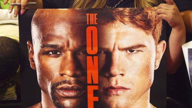 The bout between Floyd Mayweather Jnr of the US and Canelo Alvarez of Mexico is set to break pay-per-view records.