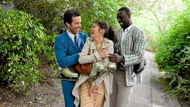 Lost in translation: Romain Duris, Audrey Tautou and Omar Sy in Mood Indigo.