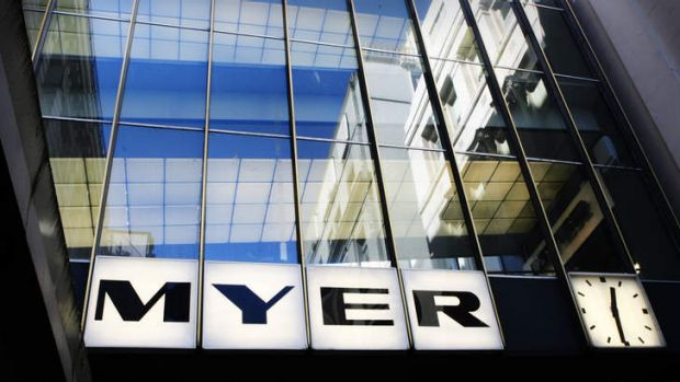 Myer has recorded its third successive annual profit slide, and the outlook for 2014 is just as grim.