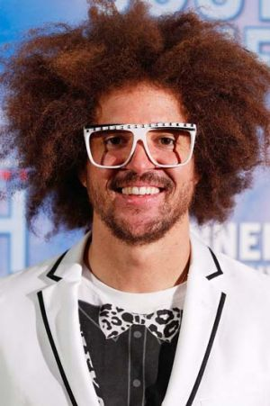 X-Factor judge: Redfoo.