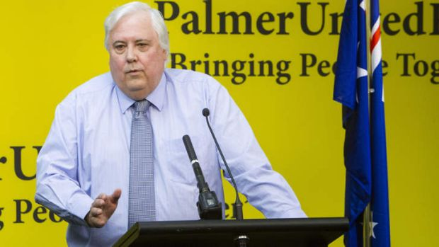 Sceptical: Clive Palmer says he will lose.