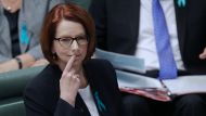 Gillard breaks silence with Labor warning (Video Thumbnail)