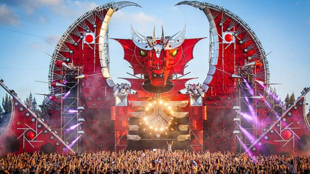 At least 20 overdoses: The Defqon.1 music festival, held near Penrith.