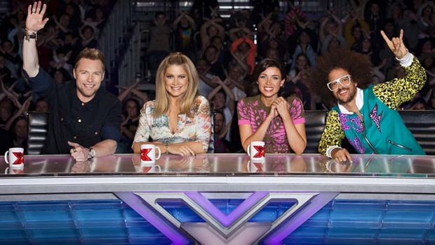 Watertight: To perform in front of the <i>X Factor</i> hosts, contestants have to agree to a number of conditions.