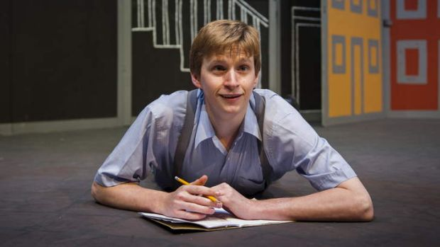Lachlan Ruffy plays Thomas Klopper in <i>The Book of Everything</i>.