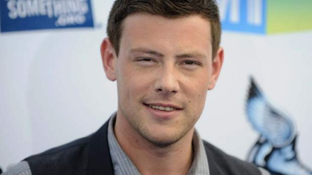 Emmy tribute ... Cory Monteith isn't in their league.