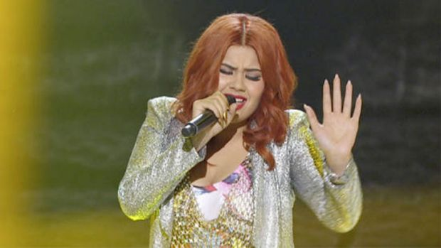 Ellie Lovegrove eliminated from <i>The X Factor</i> after gaining a new hair colour and heels.