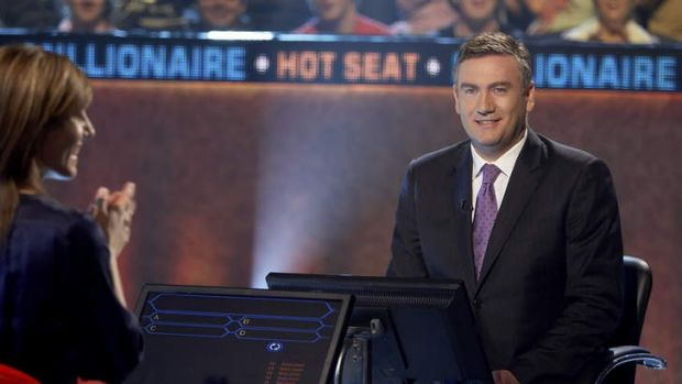 Not so hot right now ... Eddie McGuire's dominance as the host of <i>Hot Seat</i> might be over.