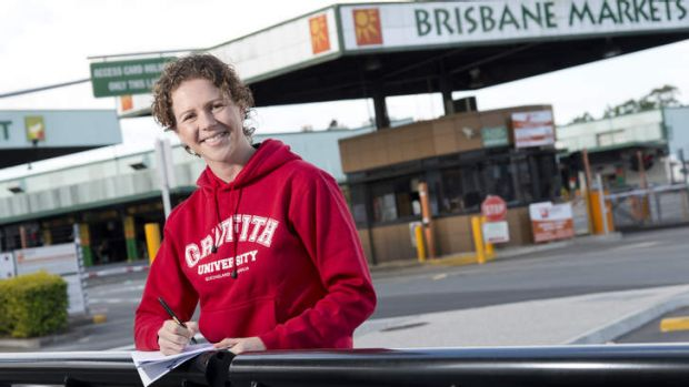 Griffith University researcher Lex Drennan has been studying the effectiveness of flood disaster payments in Rocklea.