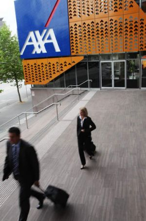 AXA sells life insurance in the US.
