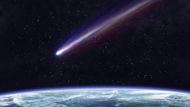 Telling tail: Some comets are quite spectacular.