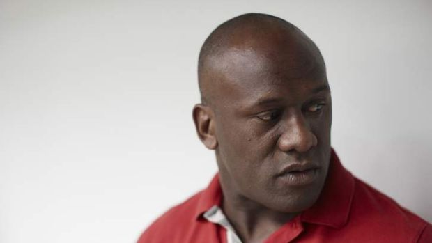Don't look back in anger  … Former rugby league star Wendell Sailor.