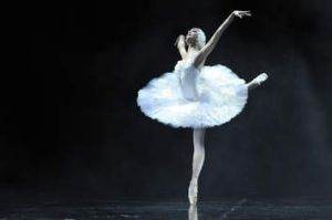 Oxana Sharoba in <i>The Dying Swan</i>.