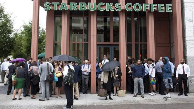 Controversy brewing: Starbucks is one of many big corporations who have been criticised for their tax avoidance.