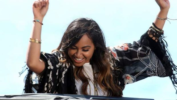 Huge honour ... Jessica Mauboy will perform before an Emmys crowd.