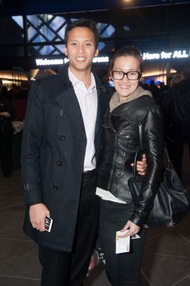 William Liew and Cynthia Chong.