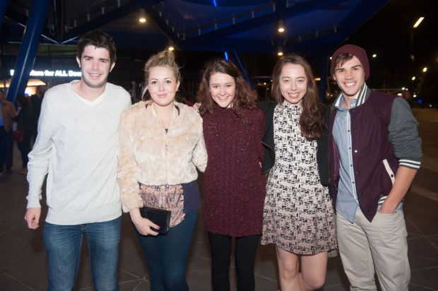 James Haywood, Hannah Tillotson, Lucy Tillotson , Alana Kildea and Adam Kovalevs.