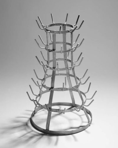 Marcel Duchamp, 'Bicycle wheel' 1913 reconstructed 1964, National Gallery of Australia, Canberra. Purchased 1973 © ...