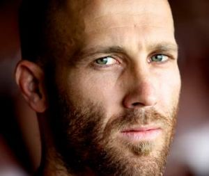 Focused on the finals: Jarrad McVeigh.