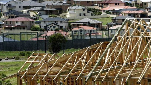 Housing remains 'patchy' outside of Sydney, Brian Hartzer says.