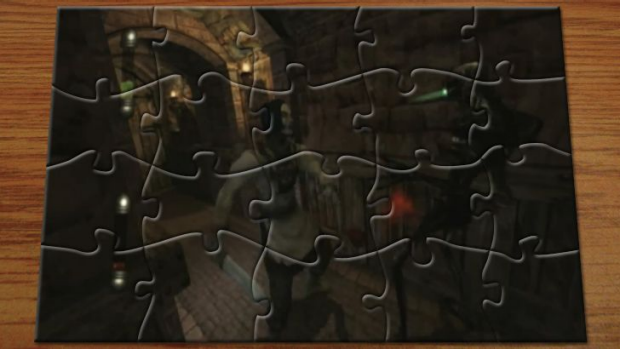 It's our fiftieth jigsaw puzzle! Care to take a guess as to what the game is?