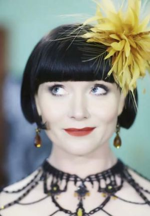 Clued up: Essie Davis as the thoroughly modern Phryne Fisher in <i>Miss Fisher's Murder Mysteries</i>.