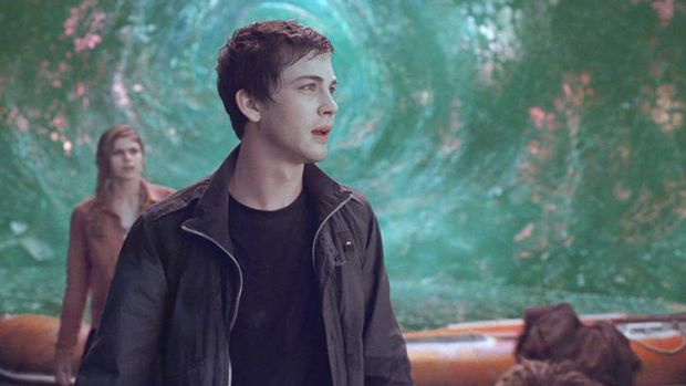 A young Adonis: Logan Lerman's looks are matched by his acting talents.