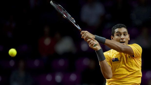Canberra's Nick Kyrgios play Davis Cup for Australia in September. He could be playing in his home town if Tennis ACT ...